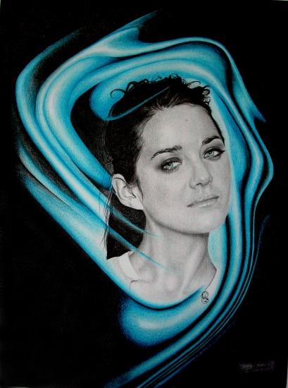 Marion Cotillard by Domine